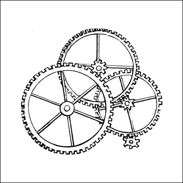 Cogs Grouped Thermofax Screen