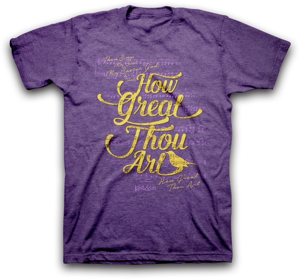 How Great Thou Art Christian T-Shirt