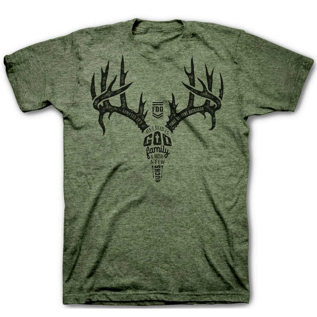 Final Descent Antler T-Shirt