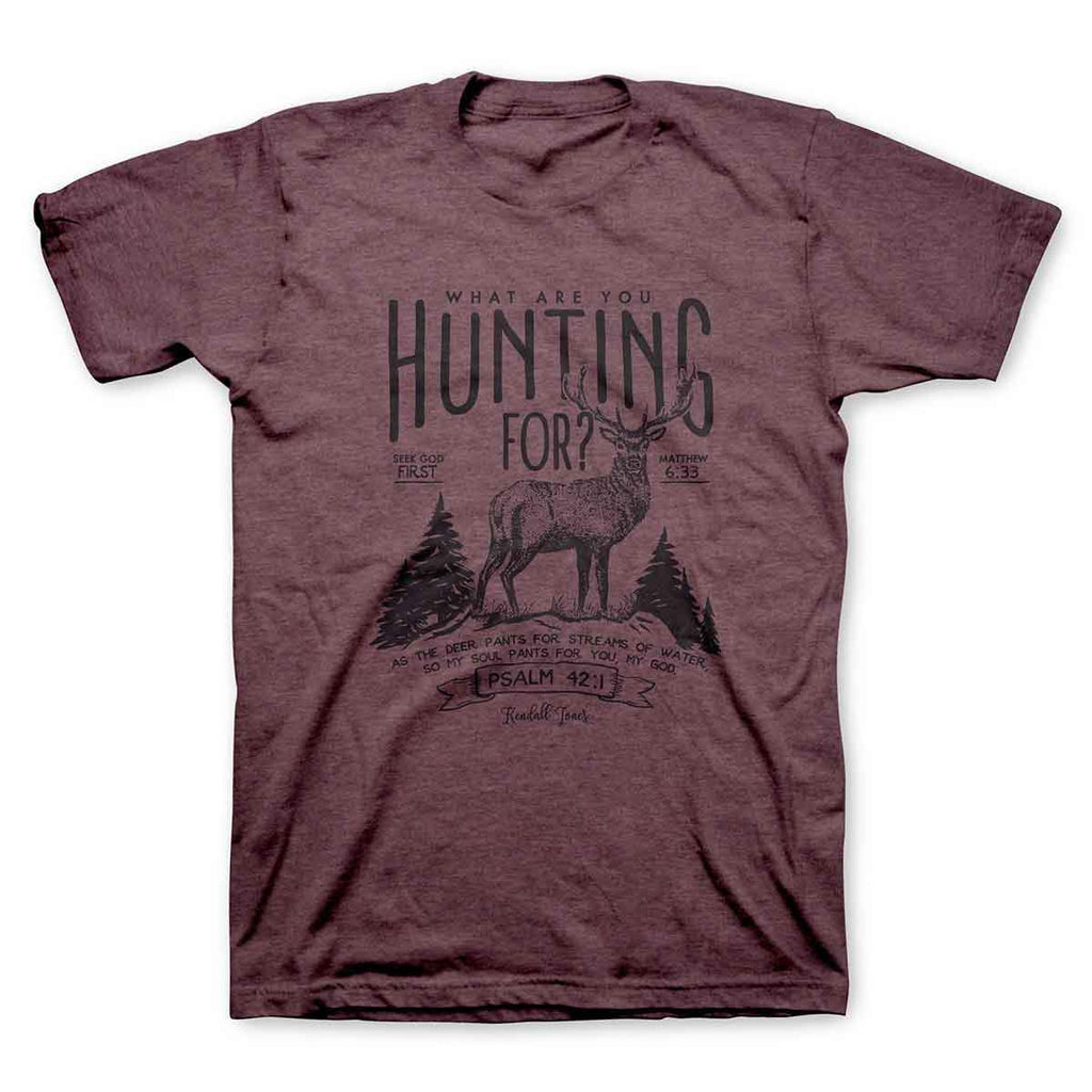 Kendall Jones - Adult T-Shirt - What Are You Hunting For