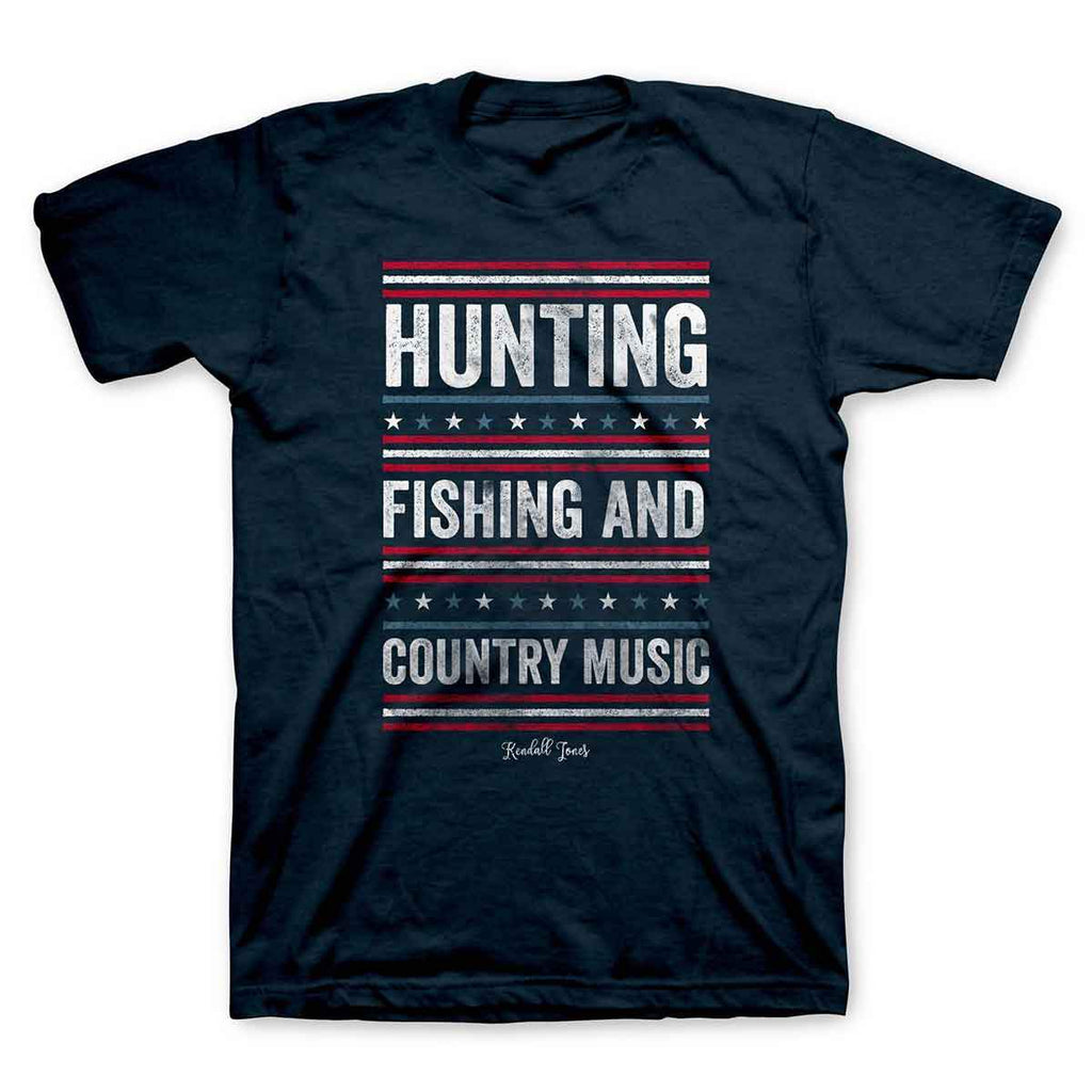 Kendall Jones - Adult T-Shirt - Hunting Fishing And Country Music