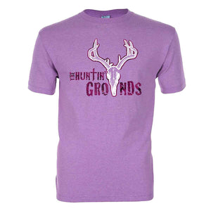 The Huntin Grounds - Foliage Logo - Women's Adult T-Shirt