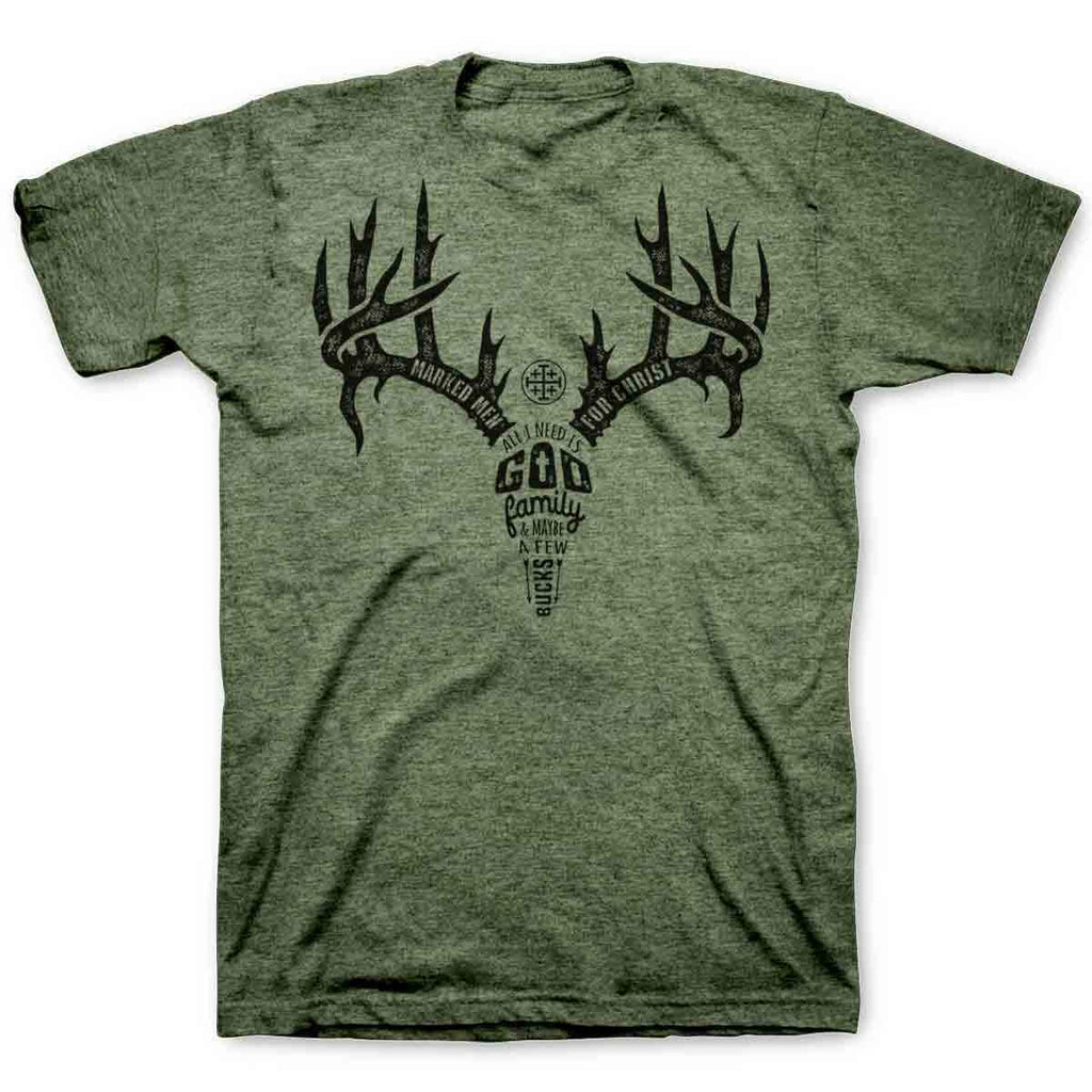 MMFC Adult T - Antler Text