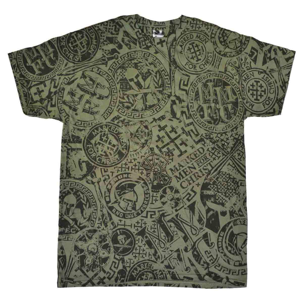 MMFC - All-Over Print Adult T-Shirt - Olive