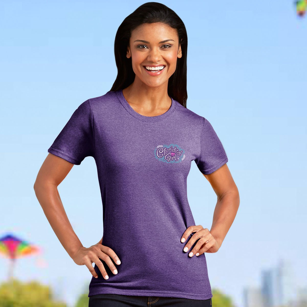 Cherished Girl® Adult T-Shirt - Through Christ