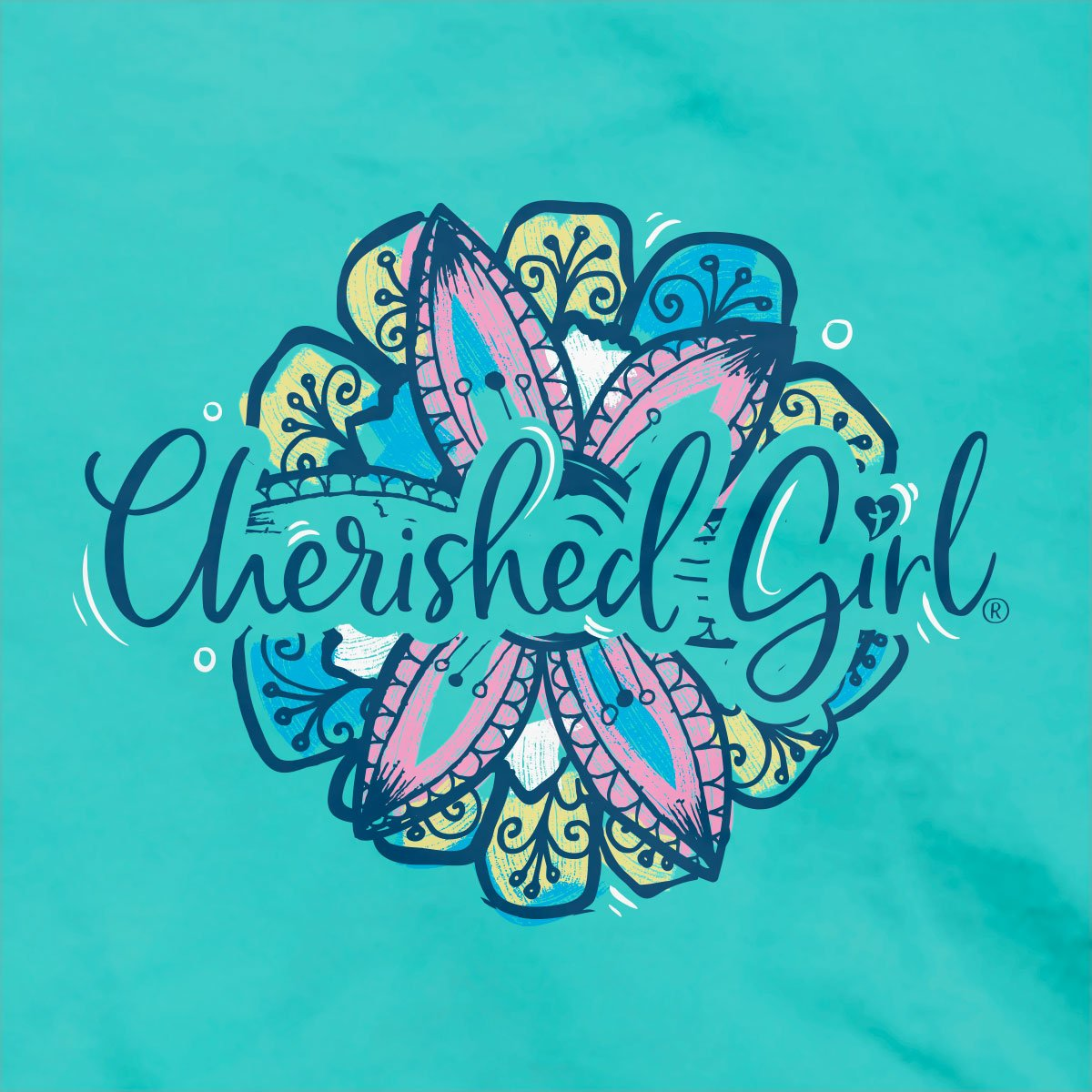 Cherished Girl Christian T-Shirt Love God