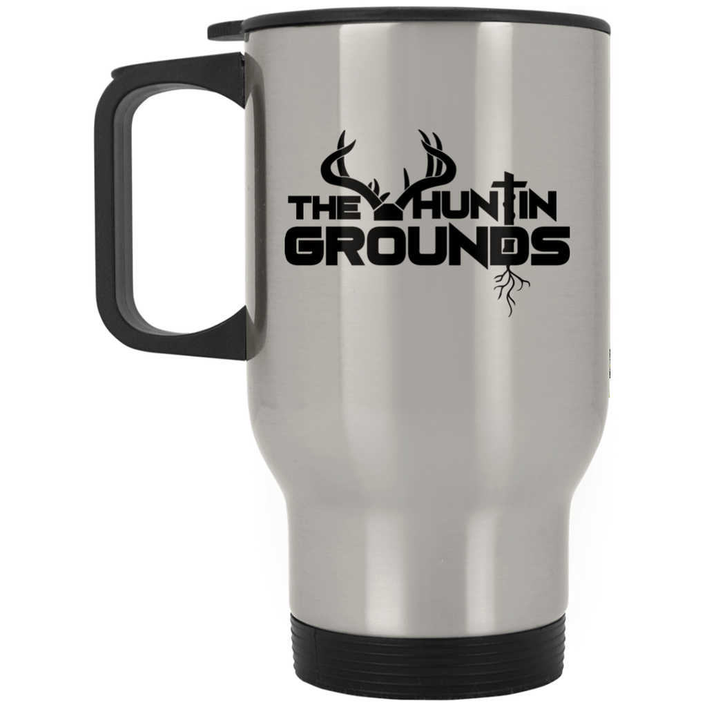 The Huntin Grounds - Stainless Steel Travel - Black