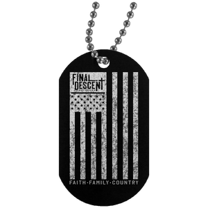 FDO - Faith Family Country Dog Tag