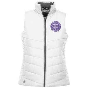 Women's Walk With Christ Logo Quilted Vest