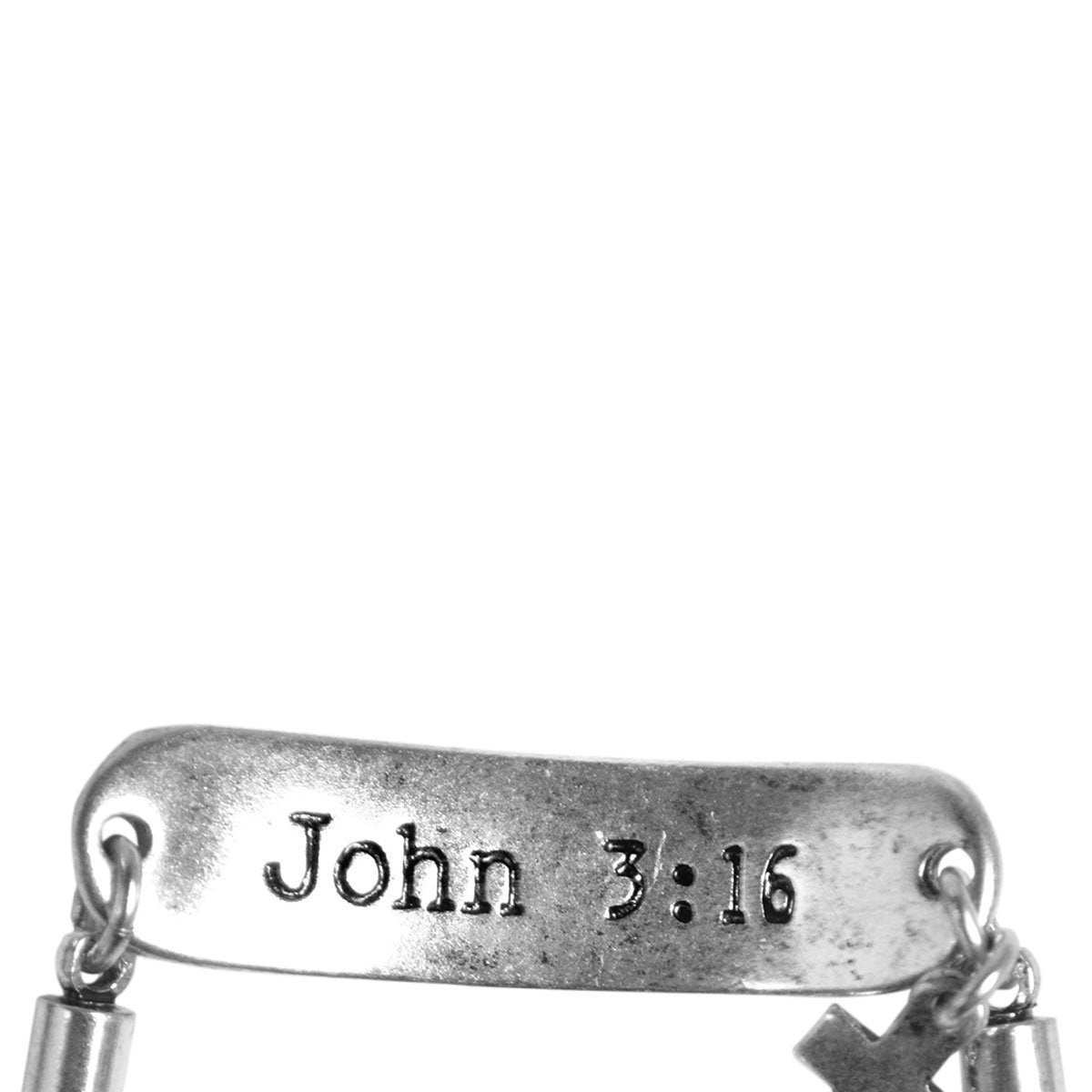 Faith Gear® Jesus Saves Womens Wrap Bracelet