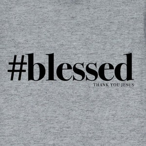 grace & truth® - Women's Adult T-Shirt - Blessed (Grey)