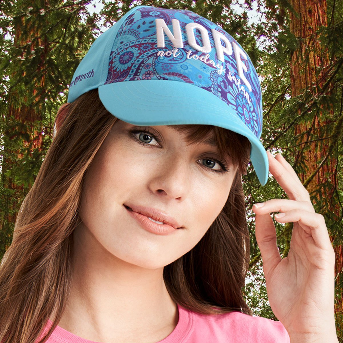 grace & truth® Womens Hat Nope
