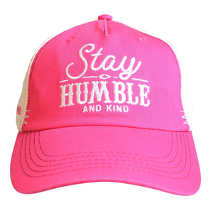 grace & truth® Womens Hat Stay Humble