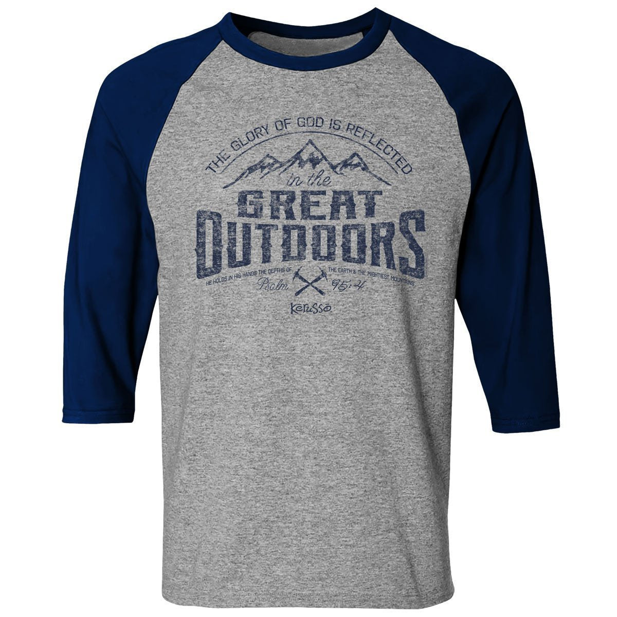 Great Outdoors Adult Raglan T-shirt ™