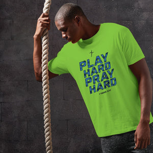 Play Hard Pray Hard Adult Kerusso ACTIVE® T-Shirt ™
