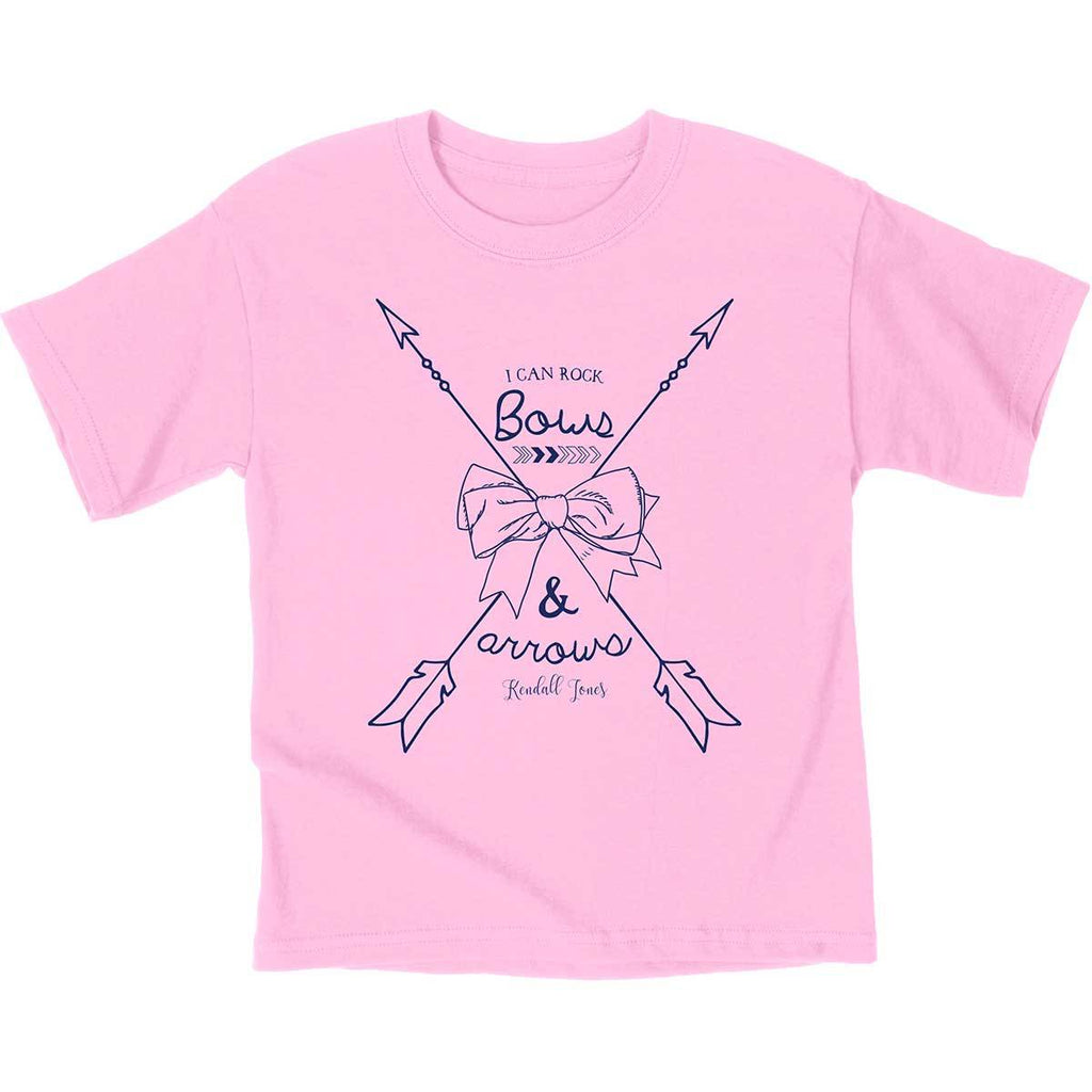Kendall Jones - Youth T-Shirt - Bows and Arrows