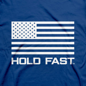 Hold Fast Christian T-Shirt Land of the Free Joshua 1:9