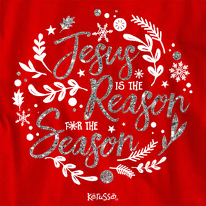 Kerusso® Adult Long-Sleeve T-Shirt - Jesus is the Reason