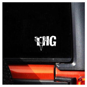 The Huntin Grounds - Window Decal