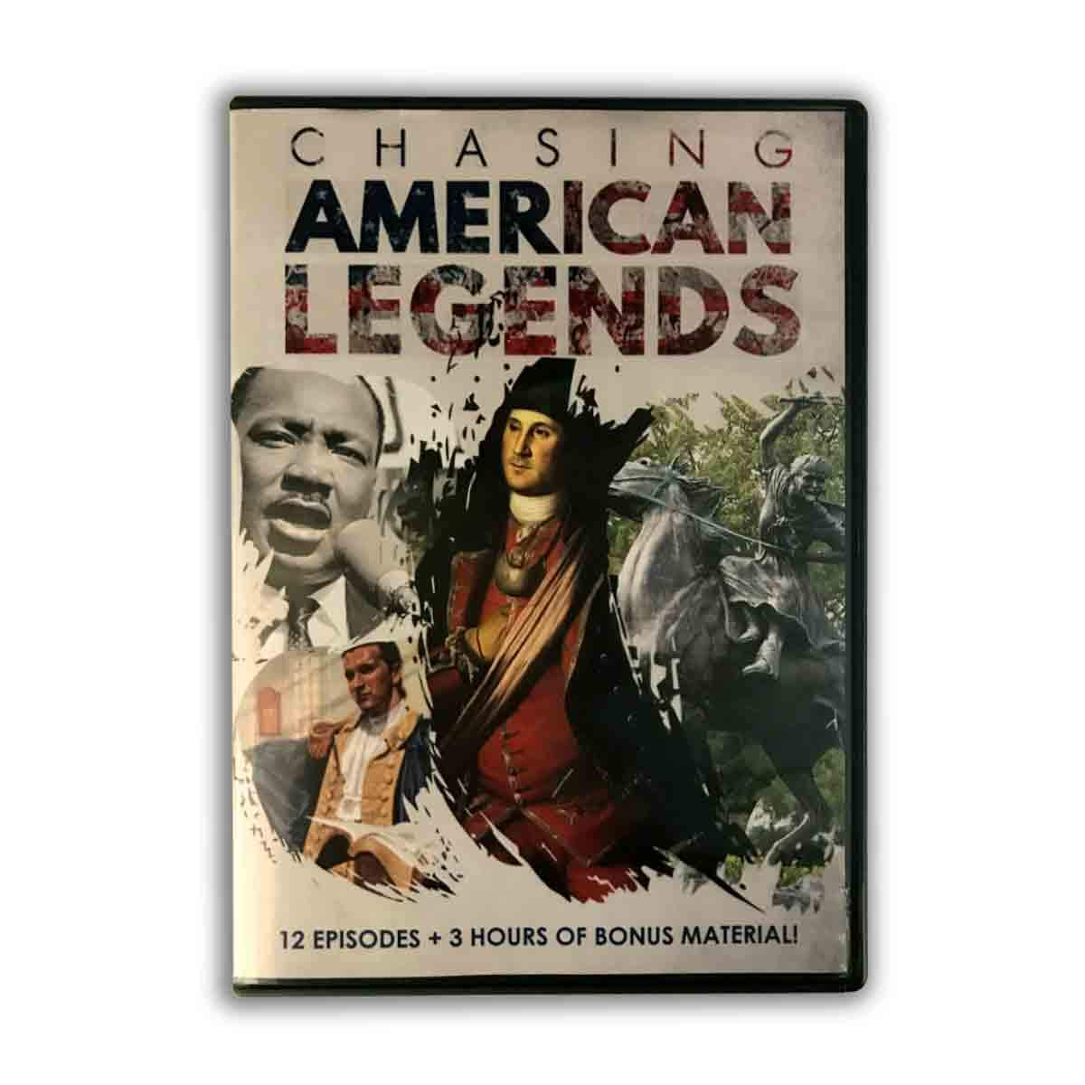 Brad Stine DVD - Chasing American Legends