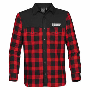 Marked Men for Christ -  Stormtech® Men's Logan Thermal Shirt - Buffalo Plaid