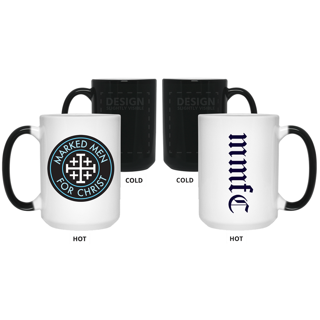 Marked Men for Christ -  Logo - 15 oz. Color Changing Mug