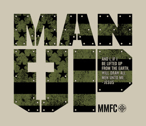 Marked Men for Christ -  Adult T - Man Up