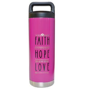 Faith Hope Love Stainless Steel Bottle ™