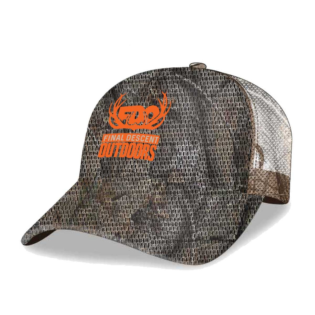 Final Descent Realtree AP Camo Mesh Cap