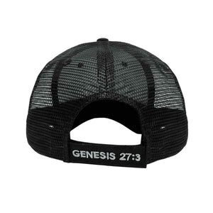 Final Descent Outdoors Black Mesh Hat