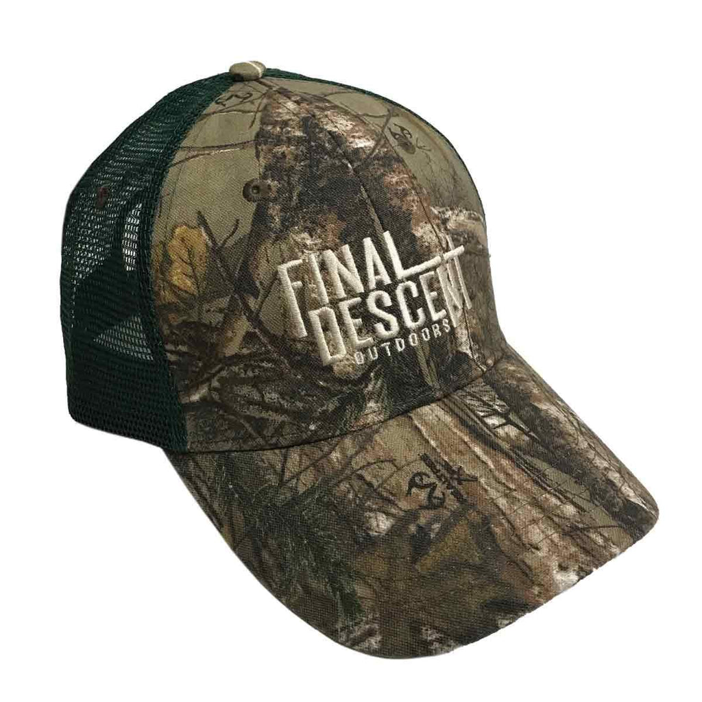 Final Descent Outdoors Realtree Xtra® Camo Cap
