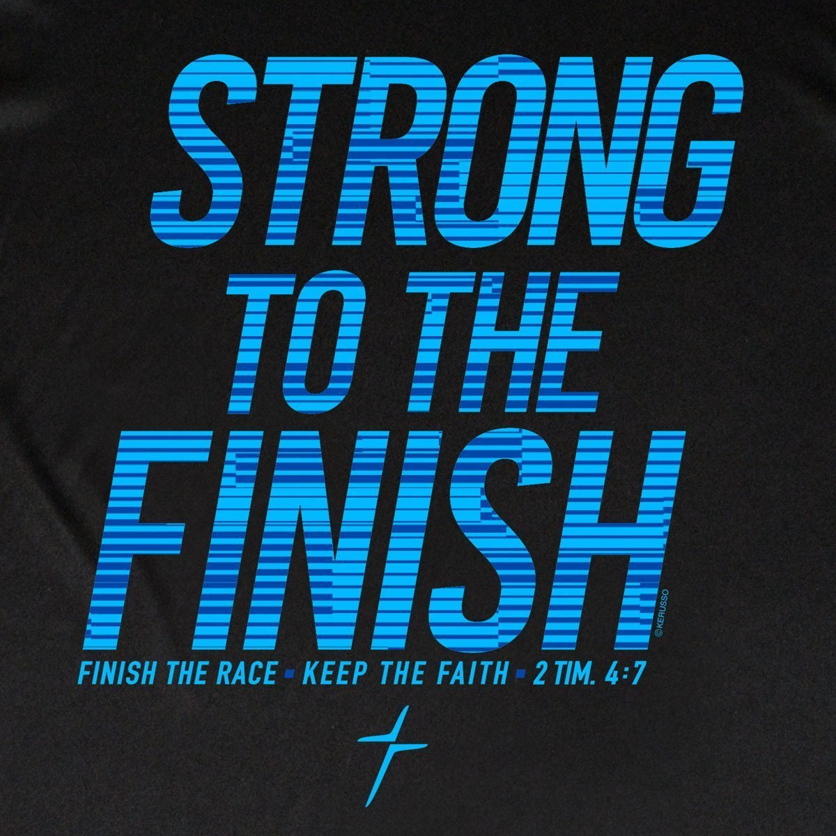 Strong To The Finish Mens Kerusso ACTIVE® T-Shirt ™