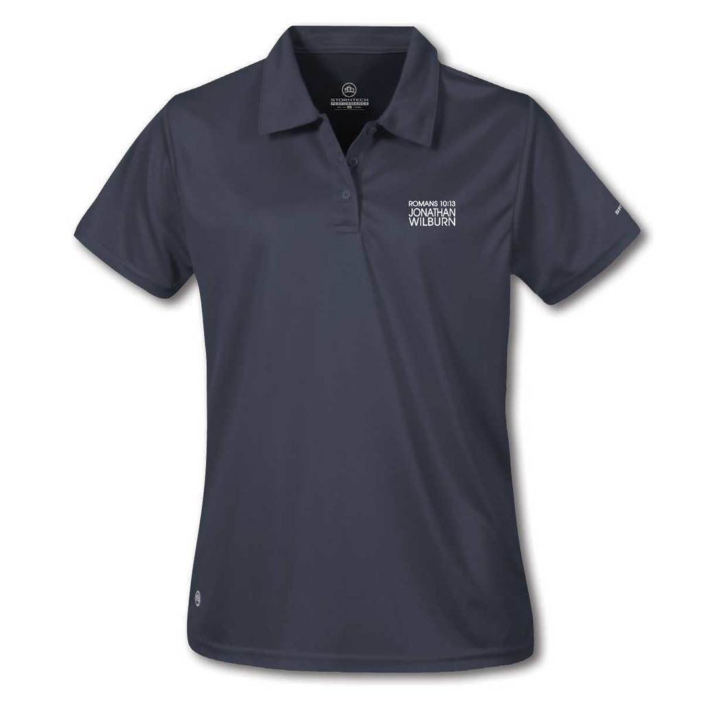 Jonathan Wilburn - Stormtech® Ladies Apollo H2X Dry Polo - Navy