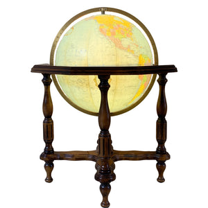 "20"" Lighted Heirloom Globe by Repogle"