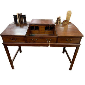 1850s Antique English Standup Desk