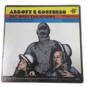 Super 8 Film - Abbott & Costello Meet The Mummy - Universal 8 - B/W/Silent