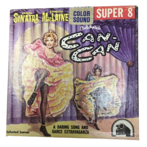 Frank Sinatra/Shirley MacLaine In Cole Porters Can-Can Super 8~42.5 Meters Film