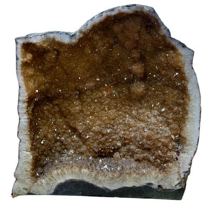 "Excellent Quality Beautiful Brazilian Citrine Geode 20.5"" Tall, 19"" Wide, 81 Lbs"