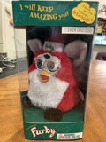 Limited Edition Christmas Santa Furby 1999 Tiger Electronics w/ Box Blue Eyes