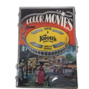 Vtg. Super 8 Knott's Berry Farm Color Movies Holiday Film Co. Reel To Reel.