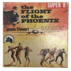 THE FLIGHT OF THE PHOENIX Super 8~42.5 Meters Black And White Original Case