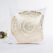 Load image into Gallery viewer, Square Gold Foil Printing Pillow Case