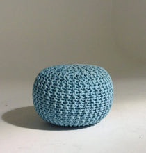 Load image into Gallery viewer, Handmade Knitted Pouf