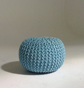 Handmade Knitted Pouf