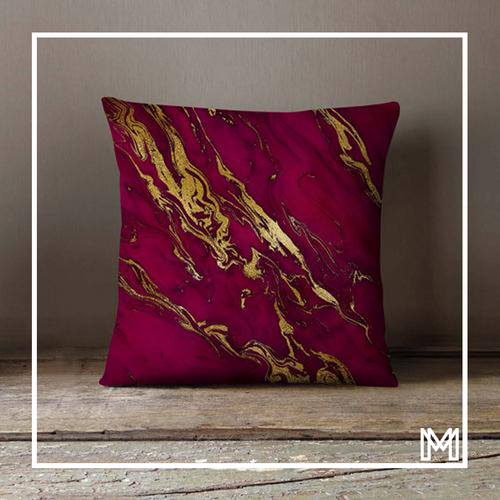 Pink Gold Marble Pillowcase