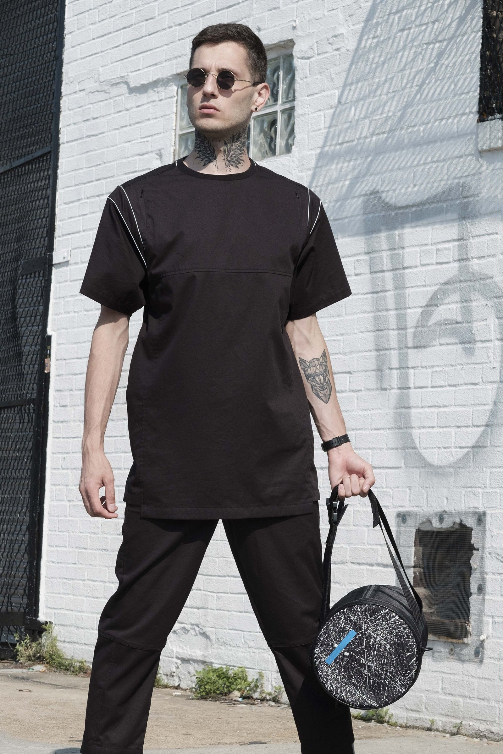 AXIS BLACK TUNIC