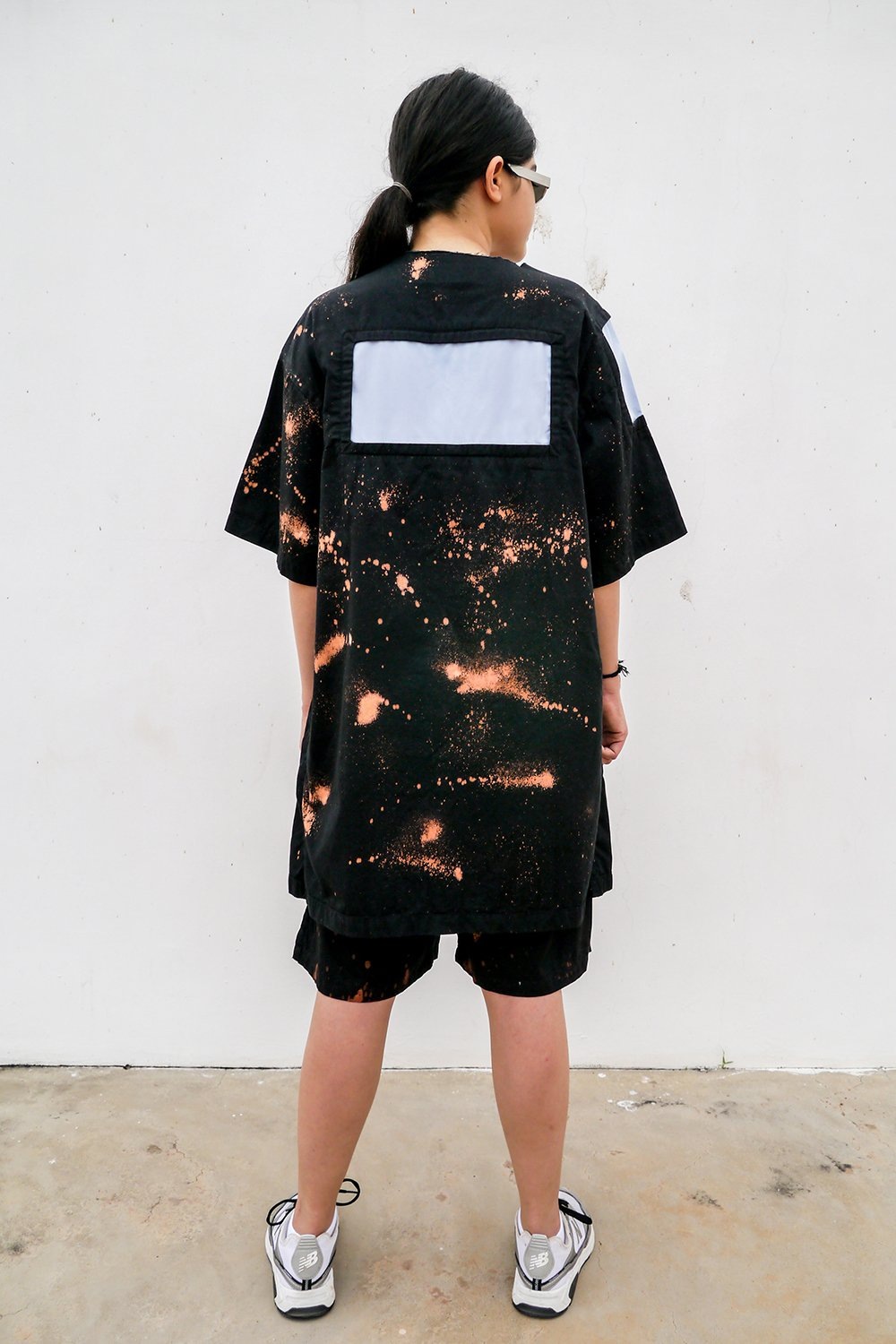 Hand Dyed Meteor Tunic - BISKIT