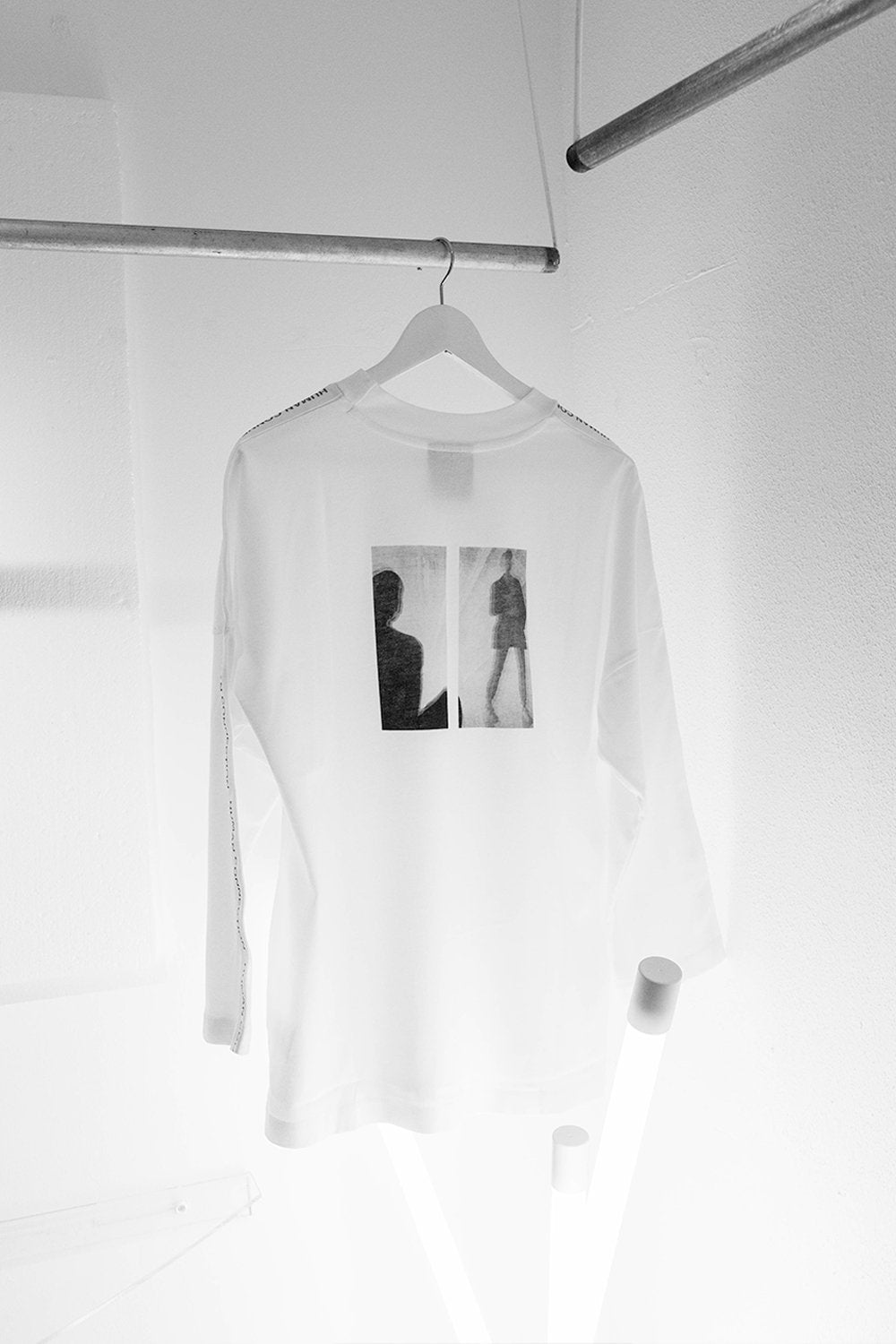 Smoke Machine White Full Tee