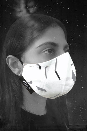 Space Debris Face Mask