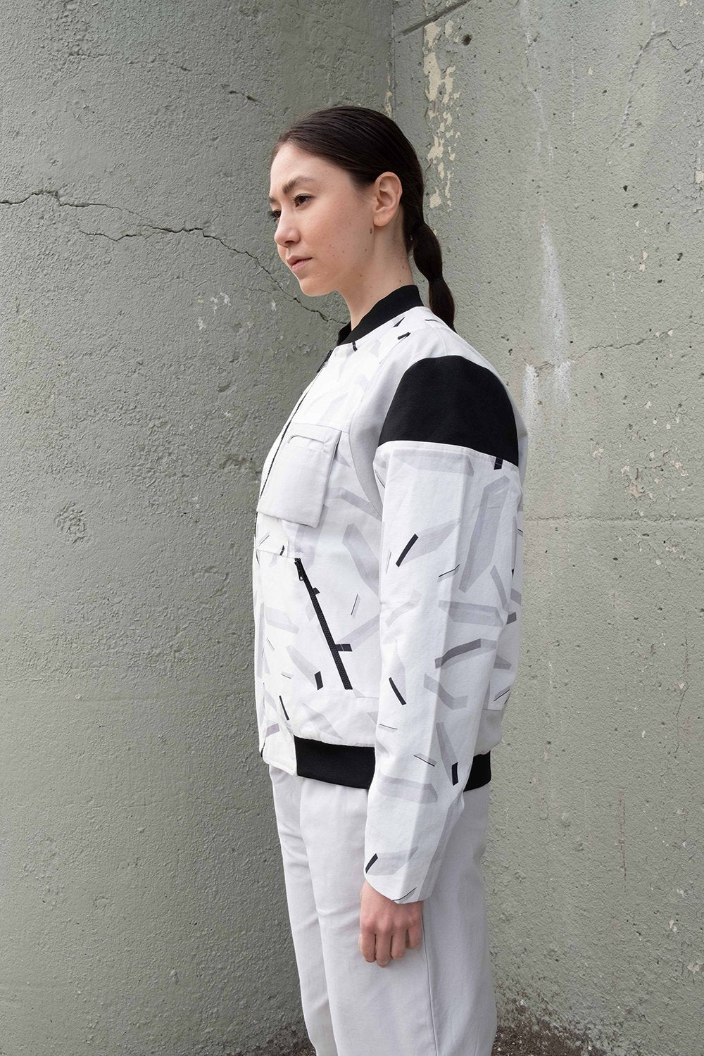 Space Debris Bomber Jacket - BISKIT